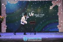 3月31日吾悦广场樱花音乐节现场魔术表演