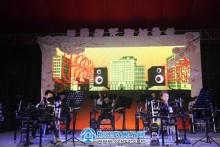 3月31日吾悦广场樱花音乐节现场